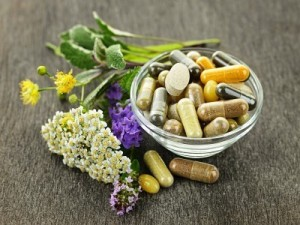 picture of herbal tablets and capsules